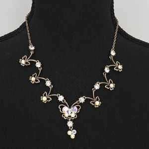 Vintage Y2K Butterfly Necklace